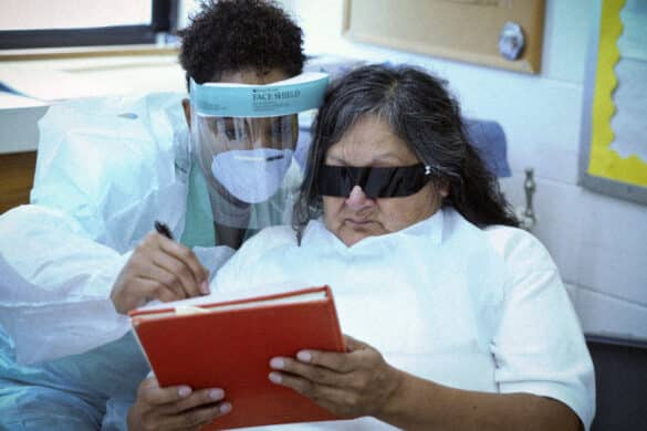 Dr. Samuel Botros Eye Shield and Goggles